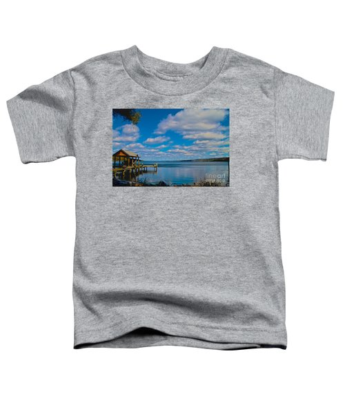 Seneca Lake At Glenora Point Toddler T-Shirt