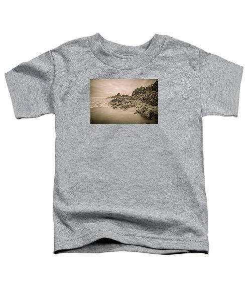 Cox Bay Sepia Toddler T-Shirt
