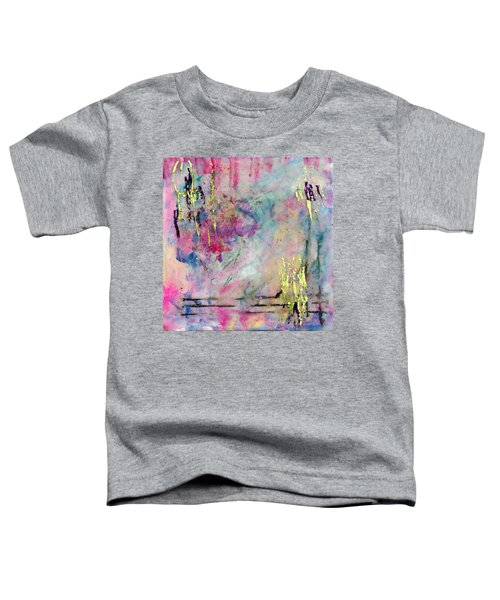 Serene Mist Encaustic Toddler T-Shirt