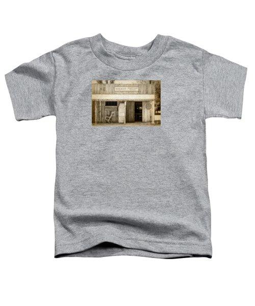 Sheriff Office Toddler T-Shirt