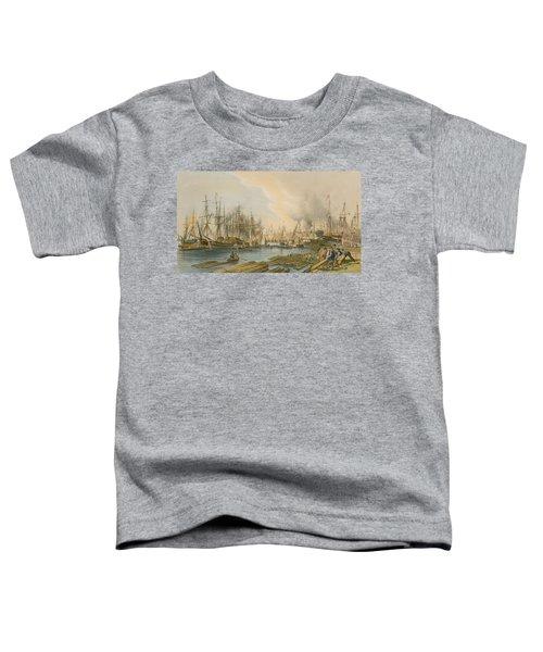 Ship Building At Limehouse Toddler T-Shirt