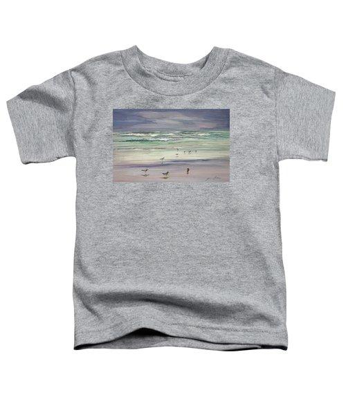Shoreline Birds IIi Toddler T-Shirt