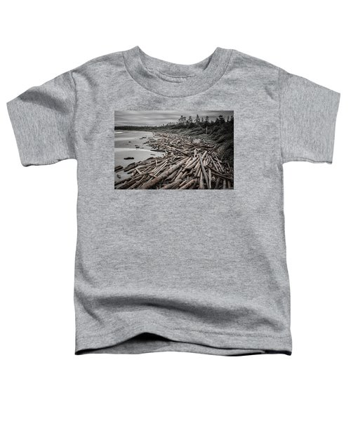 Shoved Ashore Driftwood  Toddler T-Shirt