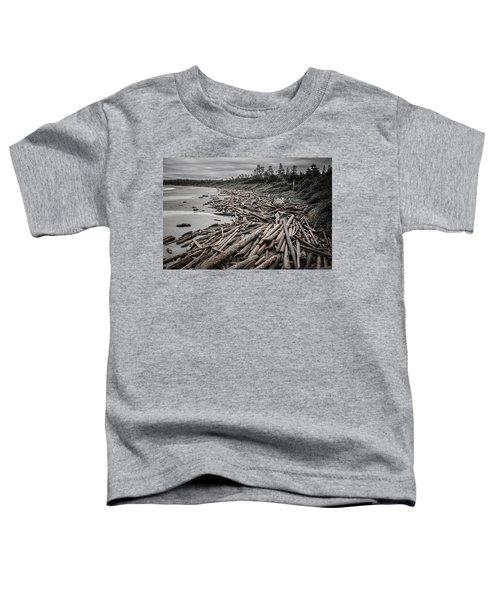 Shoved Ashore Driftwood  Toddler T-Shirt