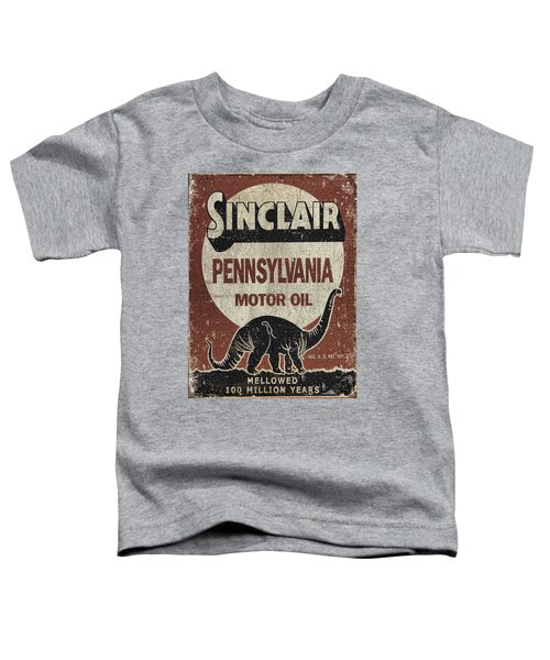 Sinclair Motor Oil Can Toddler T-Shirt