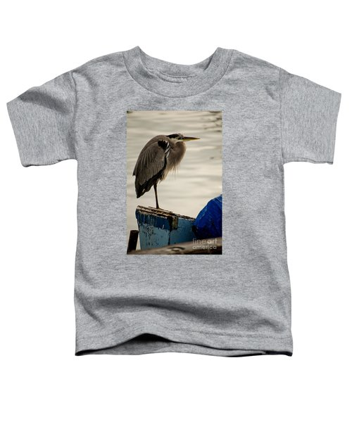 Sittin' On The Dock Of The Bay Toddler T-Shirt