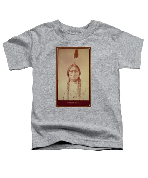Sitting Bull, Sioux Chief, C.1885 Bw Photo Toddler T-Shirt