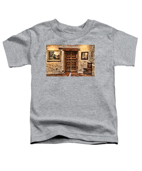 Sitting By The Door By Diana Sainz Toddler T-Shirt