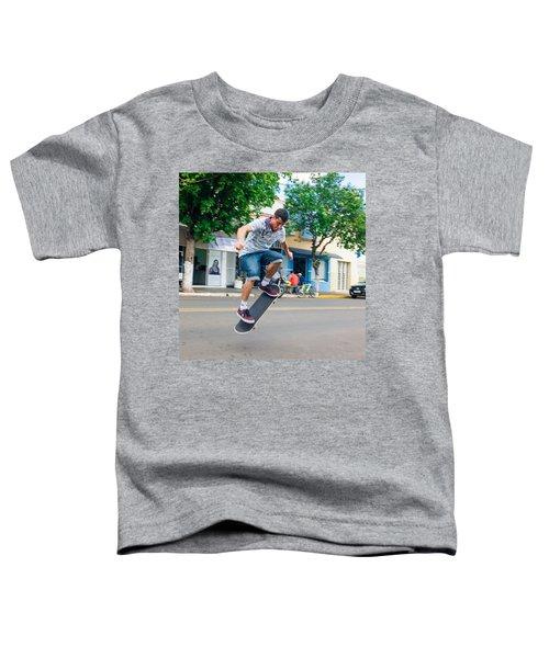 Skateboarding In Brazil Toddler T-Shirt