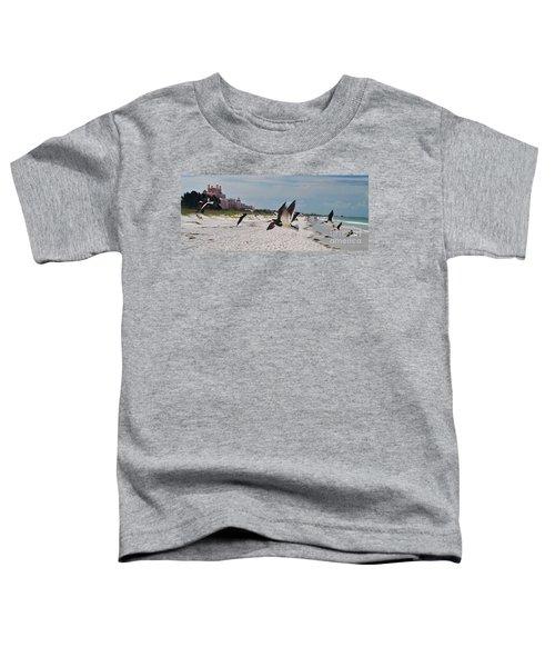 Black Skimmers At Don Cesar Toddler T-Shirt