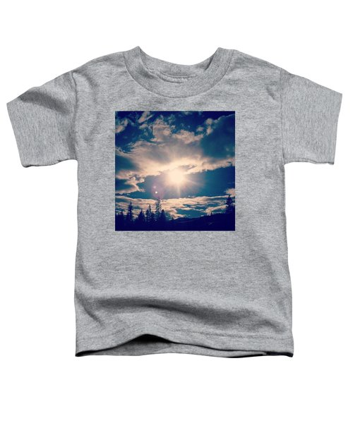 #sky #clouds #nature #trees #california Toddler T-Shirt