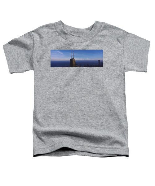 Skyscrapers In A City, Hancock Toddler T-Shirt