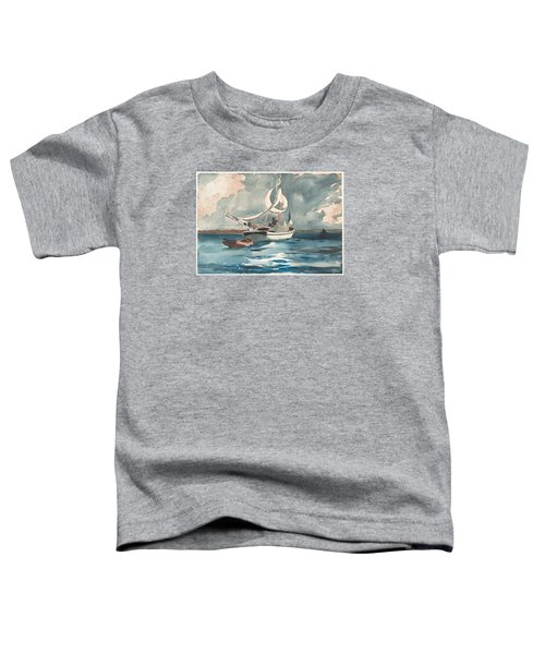 Sloop  Nassau Bahamas Toddler T-Shirt