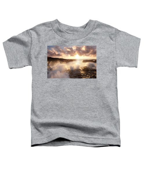 Smashing Sunset Toddler T-Shirt