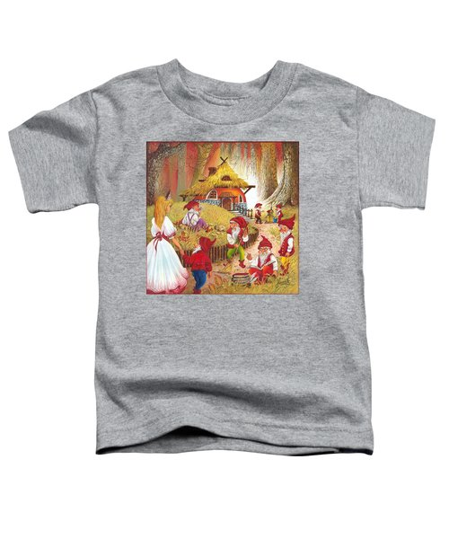 Snow White And The Seven Dwarfs Toddler T-Shirt
