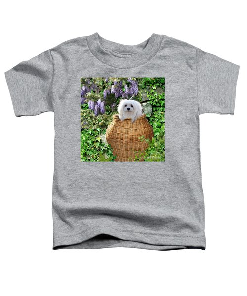 Snowdrop In A Basket Toddler T-Shirt
