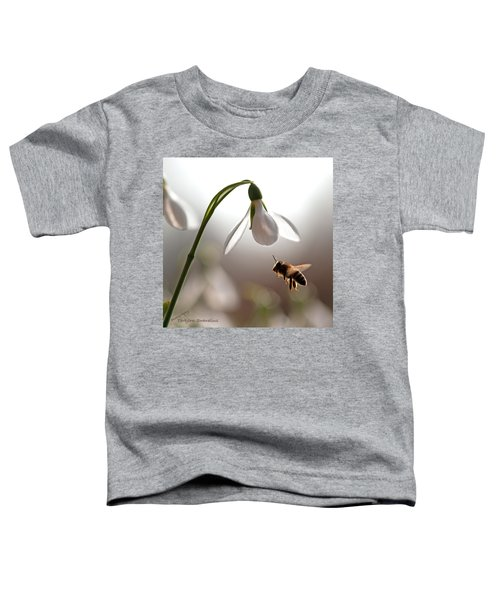 Snowdrops And The Bee Toddler T-Shirt