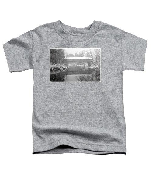 Snowy Crossing Toddler T-Shirt