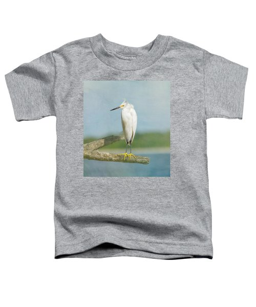 Snowy Egret Toddler T-Shirt