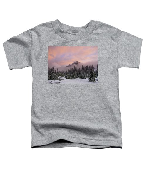 Snowy Surprise Toddler T-Shirt
