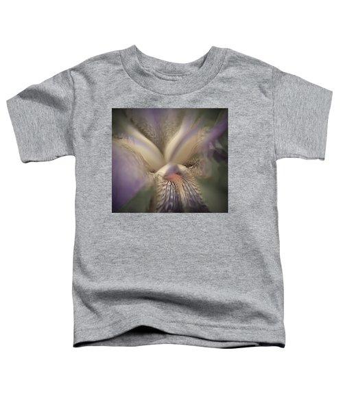 Soft Iris Flower Toddler T-Shirt