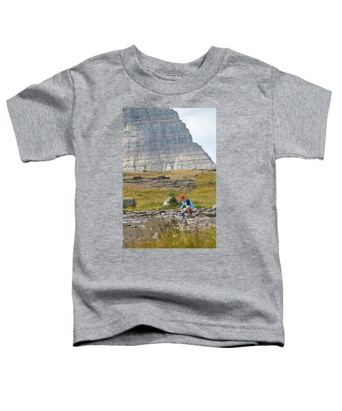 Solo Female Camper Filtering Water Toddler T-Shirt