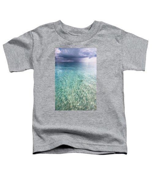 Somewhere Is Rainy. Maldives Toddler T-Shirt