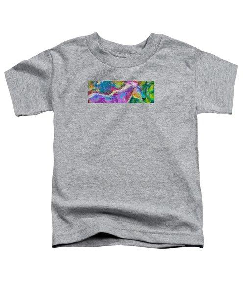 Spring Rain Toddler T-Shirt
