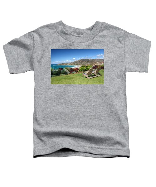Springtime At Salt Creek Beach Toddler T-Shirt