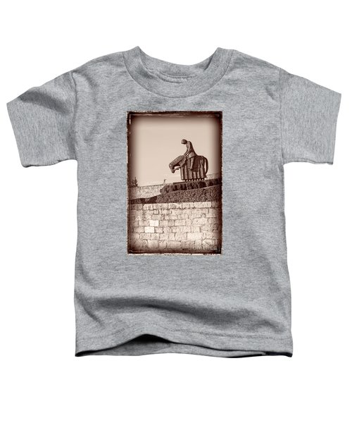 St Francis Returns From Crusades Toddler T-Shirt