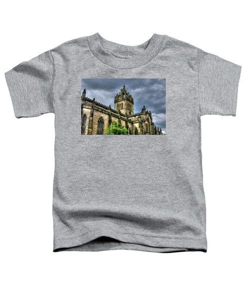 St Giles And Tree Toddler T-Shirt