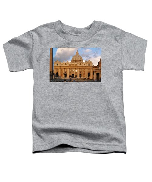 St. Peters Basilica Toddler T-Shirt