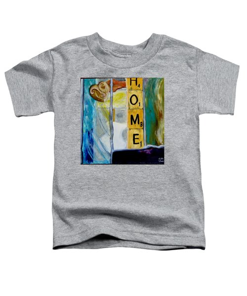 Stained Glass Home Toddler T-Shirt
