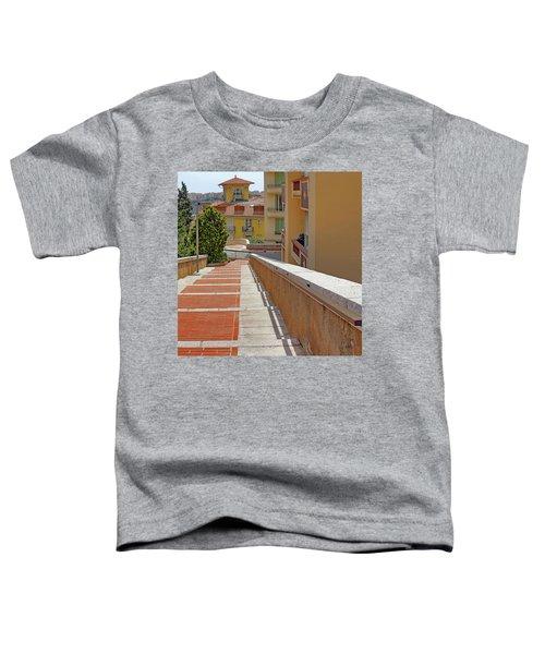 Stairway In Monaco French Riviera Toddler T-Shirt