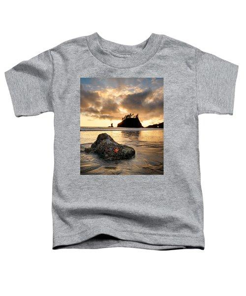 Starfish Toddler T-Shirt by Leland D Howard