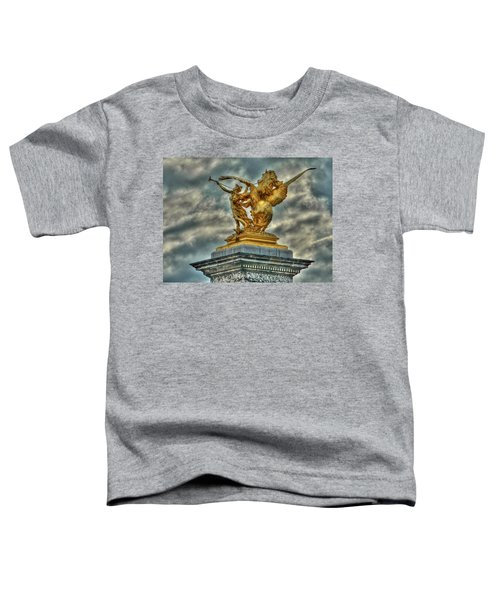 Statue On Pont Alexandre IIi Toddler T-Shirt