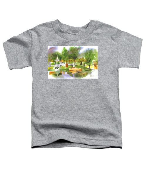 Ste Marie Du Lac In Watercolor II Toddler T-Shirt