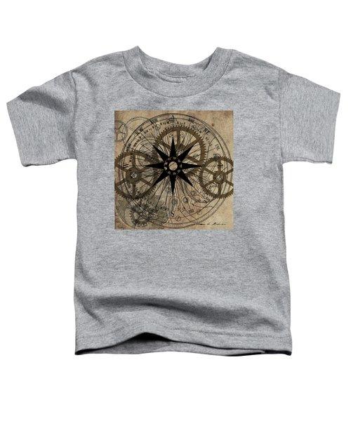 Steampunk Gold Gears II  Toddler T-Shirt