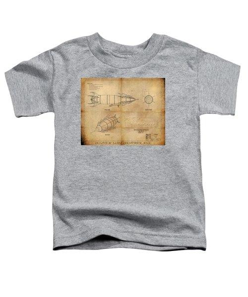 Steampunk Zepplin Toddler T-Shirt