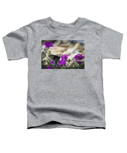 Still Beautiful Swallowtail Toddler T-Shirt