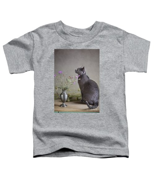 Still Life With Cat Toddler T-Shirt