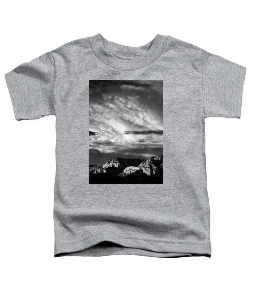 Storm Over Sedona Toddler T-Shirt