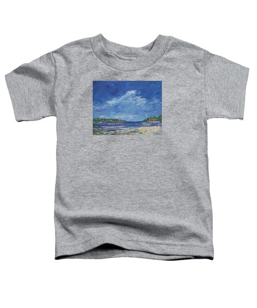 Stormy Day At Picnic Island Toddler T-Shirt