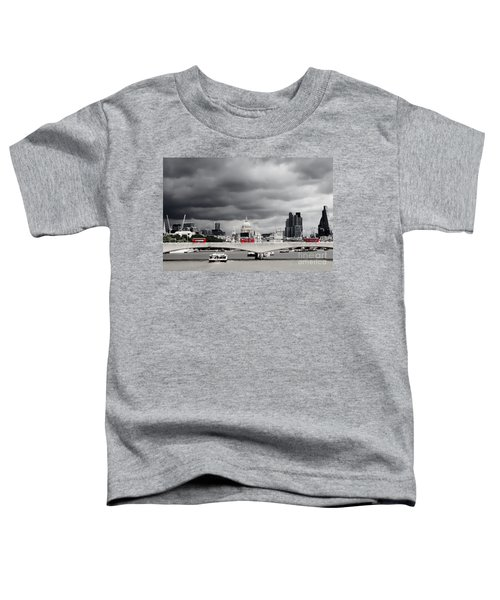 Stormy Skies Over London Toddler T-Shirt