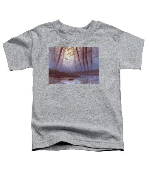 Stream In Mist Toddler T-Shirt