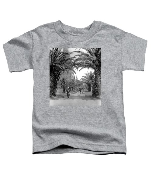 Avenue Of The Palms, San Francisco Toddler T-Shirt