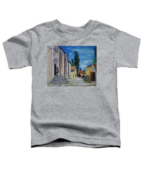 Street View In Rovinj Toddler T-Shirt