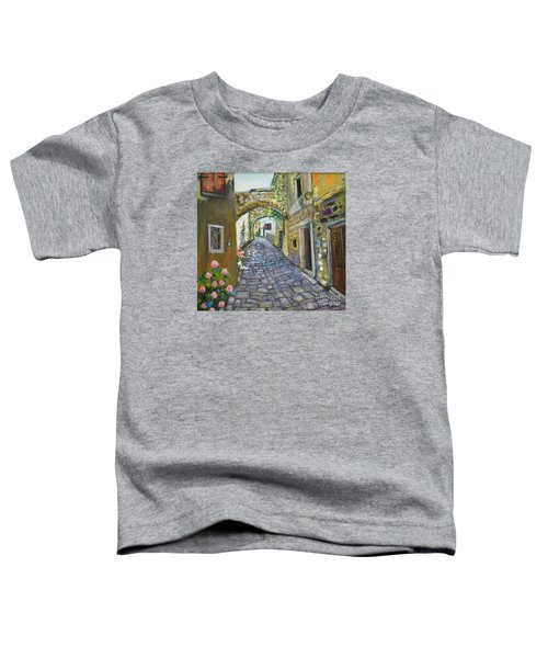 Street View In Pula Toddler T-Shirt