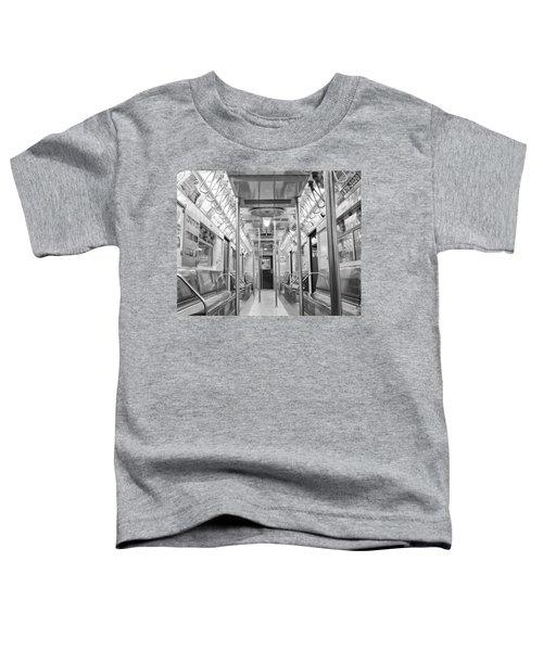 New York City - Subway Car Toddler T-Shirt