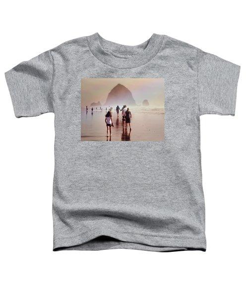 Summer At The Seashore  Toddler T-Shirt